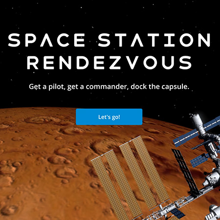 Space Station Rendezvous iPad app